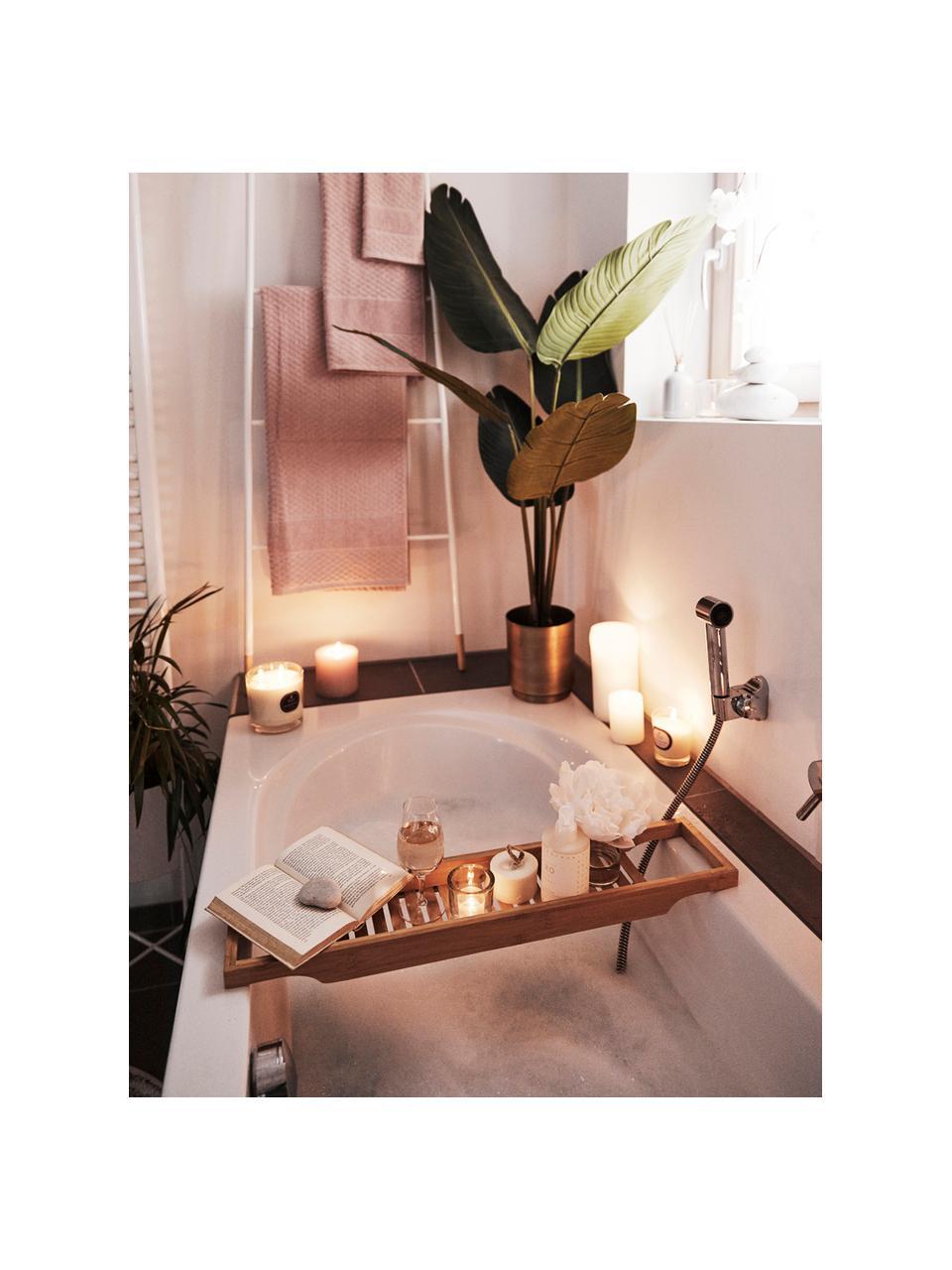 Tablette de baignoire en bambou Bambeldu, Brun