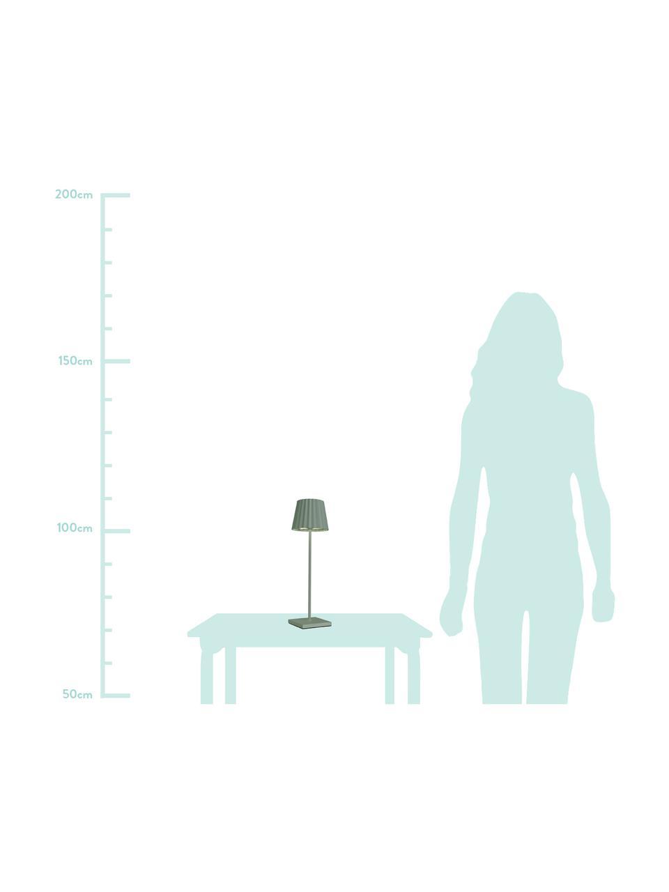 Lampe à poser d'extérieur LED mobile intensité variable Trellia, Vert