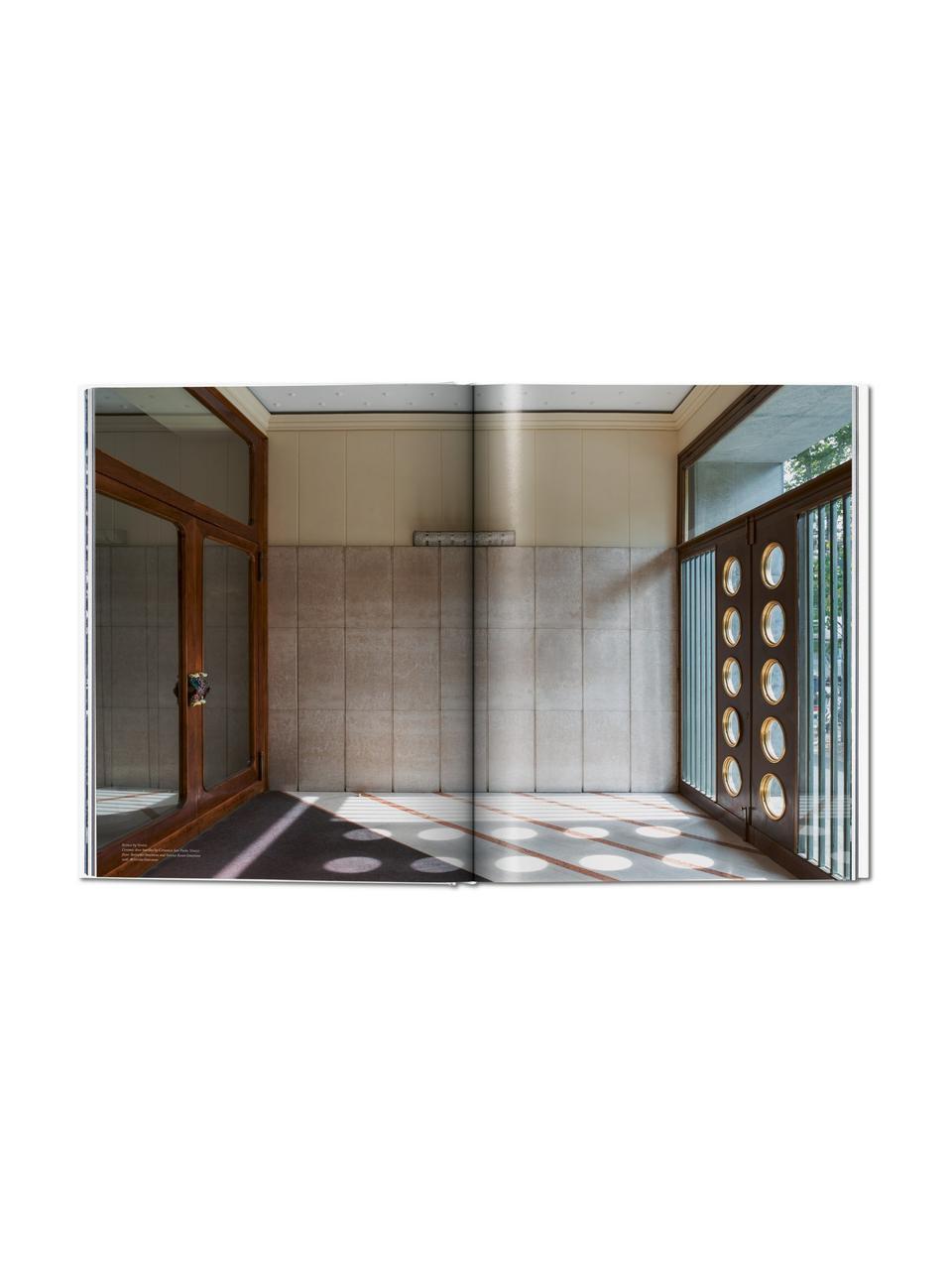 Bildband Entryways of Milan, Papier, Hardcover, Weiß, Mehrfarbig, 26 x 34 cm