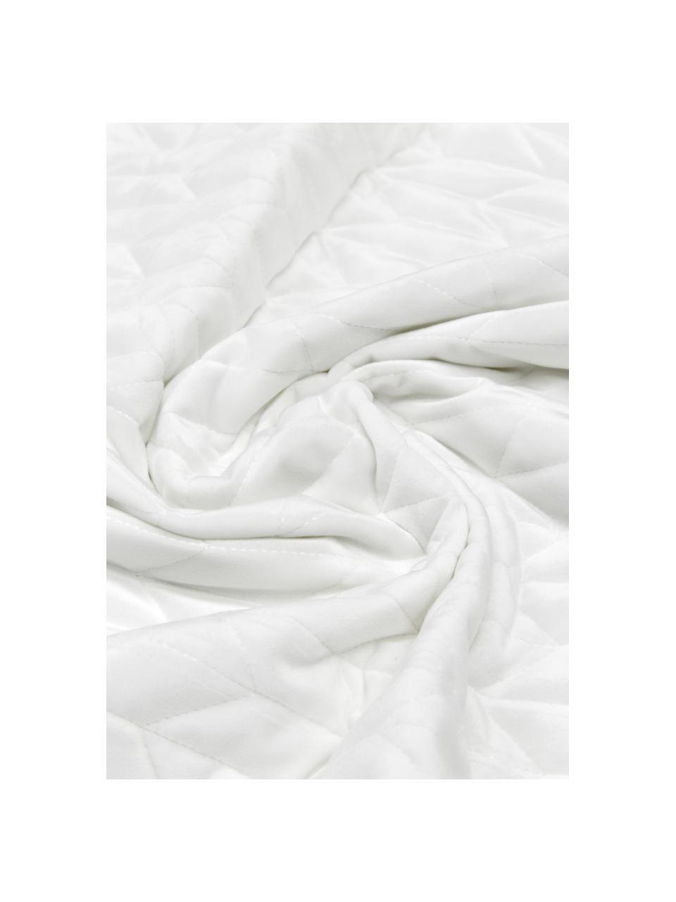 Tagesdecke Tily mit dekorativer Steppung, 100% Polyester, Weiß, B 180 x L 260 cm (für Betten bis 140 x 200)