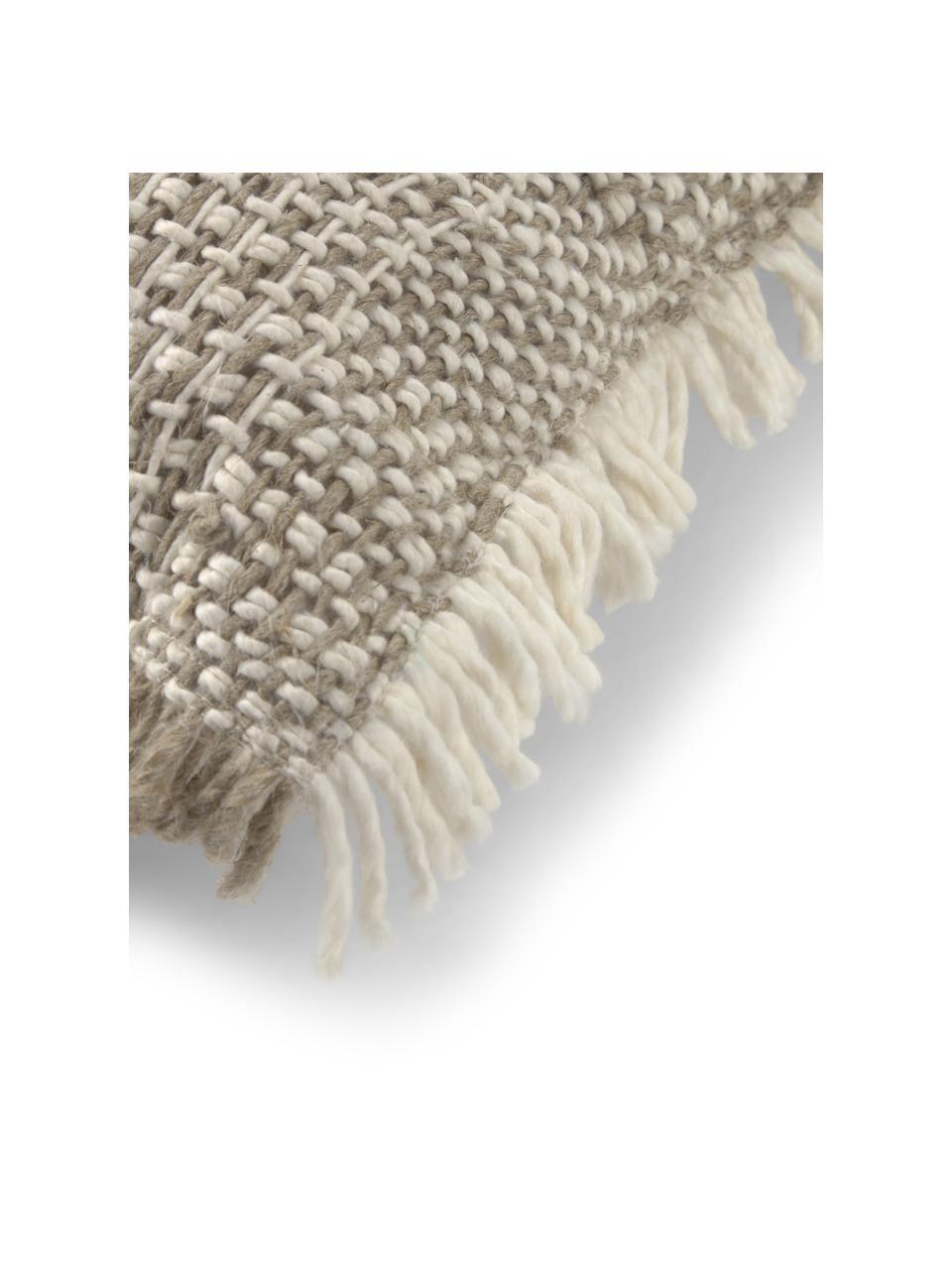 Poszewka na poduszkę Ami, 100% bawełna, Beżowy, S 45 x D 45 cm