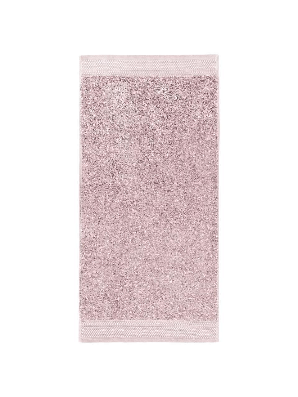 Set 3 asciugamani Premium, Rosa cipria, Set in varie misure