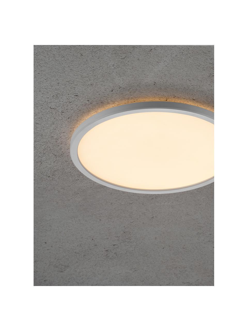 Mały panel świetlny LED z funkcją przyciemniania Oja, Biały, Ø 29 x W 2 cm