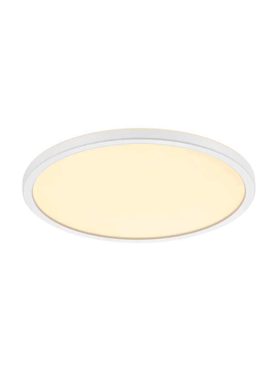 Panel świetlny LED z funkcją przyciemniania Oja, Biały, Ø 29 x W 2 cm