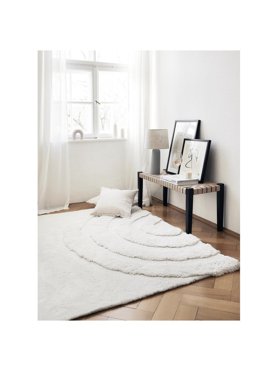 Puszysty dywan Rubbie, Beżowy, S 160 x D 230 cm (Rozmiar M)