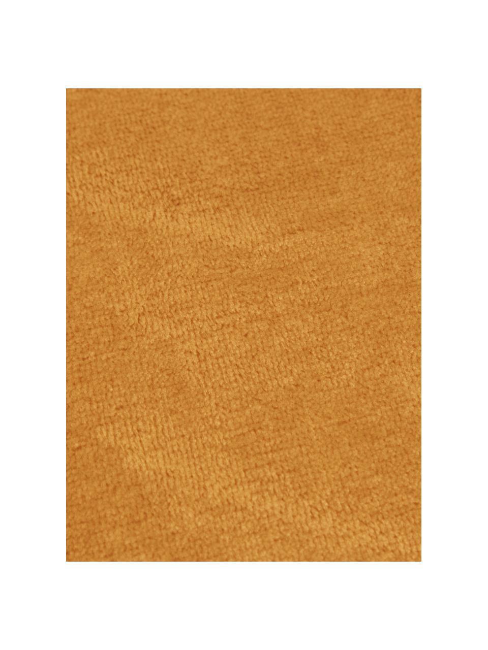 Kuscheldecke Doudou in Senfgelb, 100% Polyester, Senfgelb, 130 x 160 cm