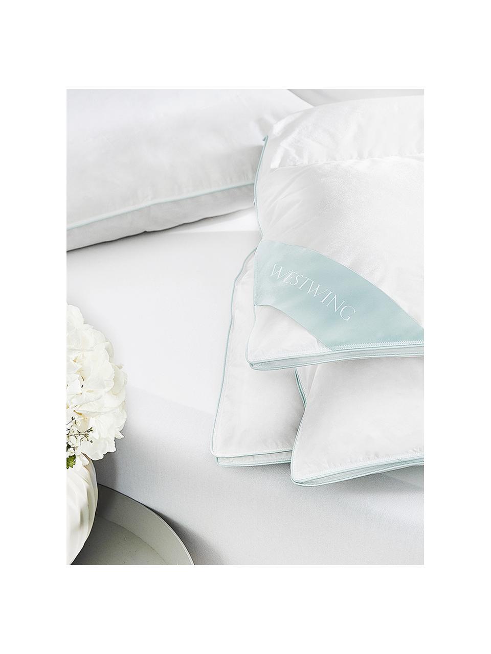 Zuiver donzen dekbed Premium, extra licht, Wit, 135 x 200 cm