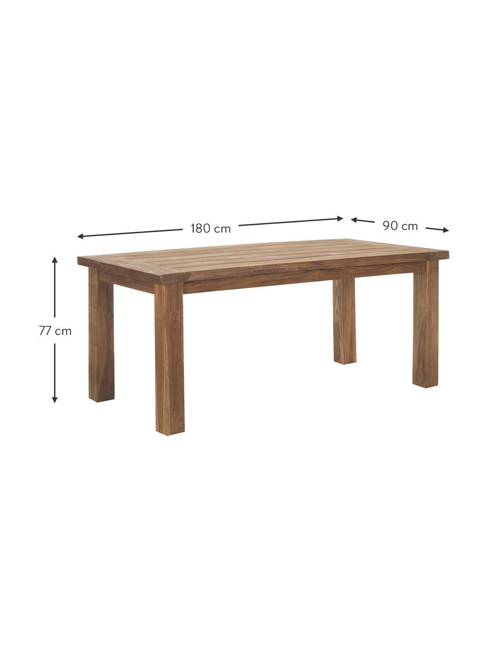 Table en bois massif Bois, Teck