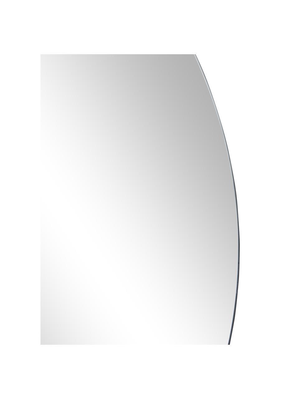 Specchio rotondo da parete Walls, Retro: pannelli di fibra a media, Superficie dello specchio: lastra di vetro, Lastra di vetro, Ø 80 cm x Prof. 2 cm