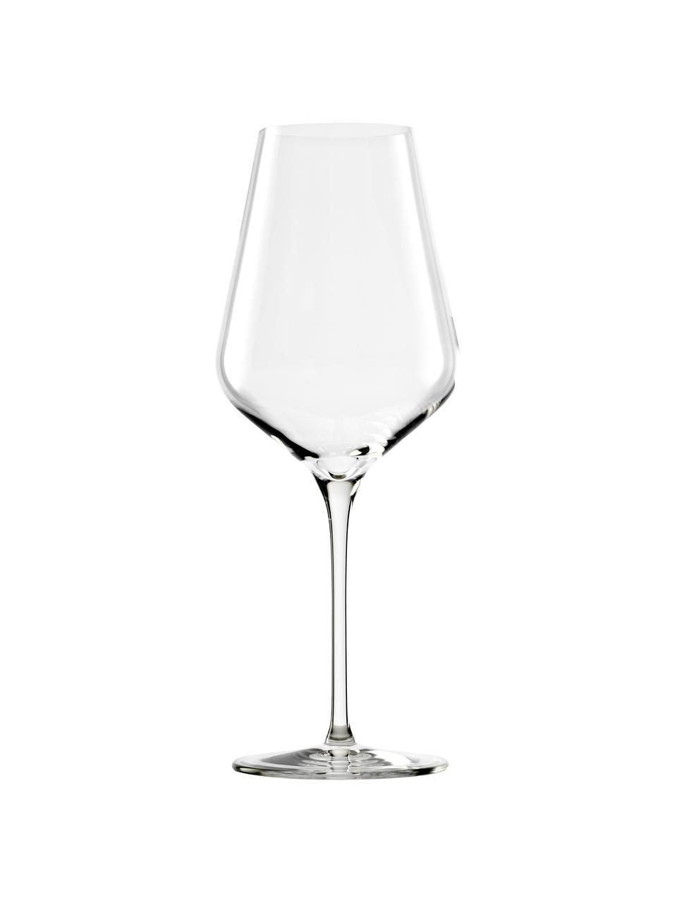 Rode wijnglazen Quatrophil, 6 stuks, Kristalglas, Transparant, Ø 10 x H 25 cm