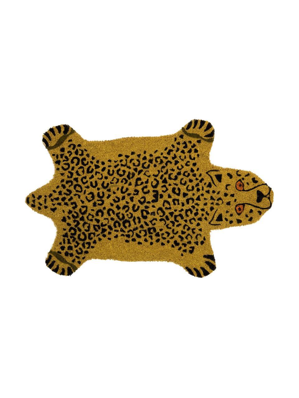 Paillasson Cheetah, Brun, noir
