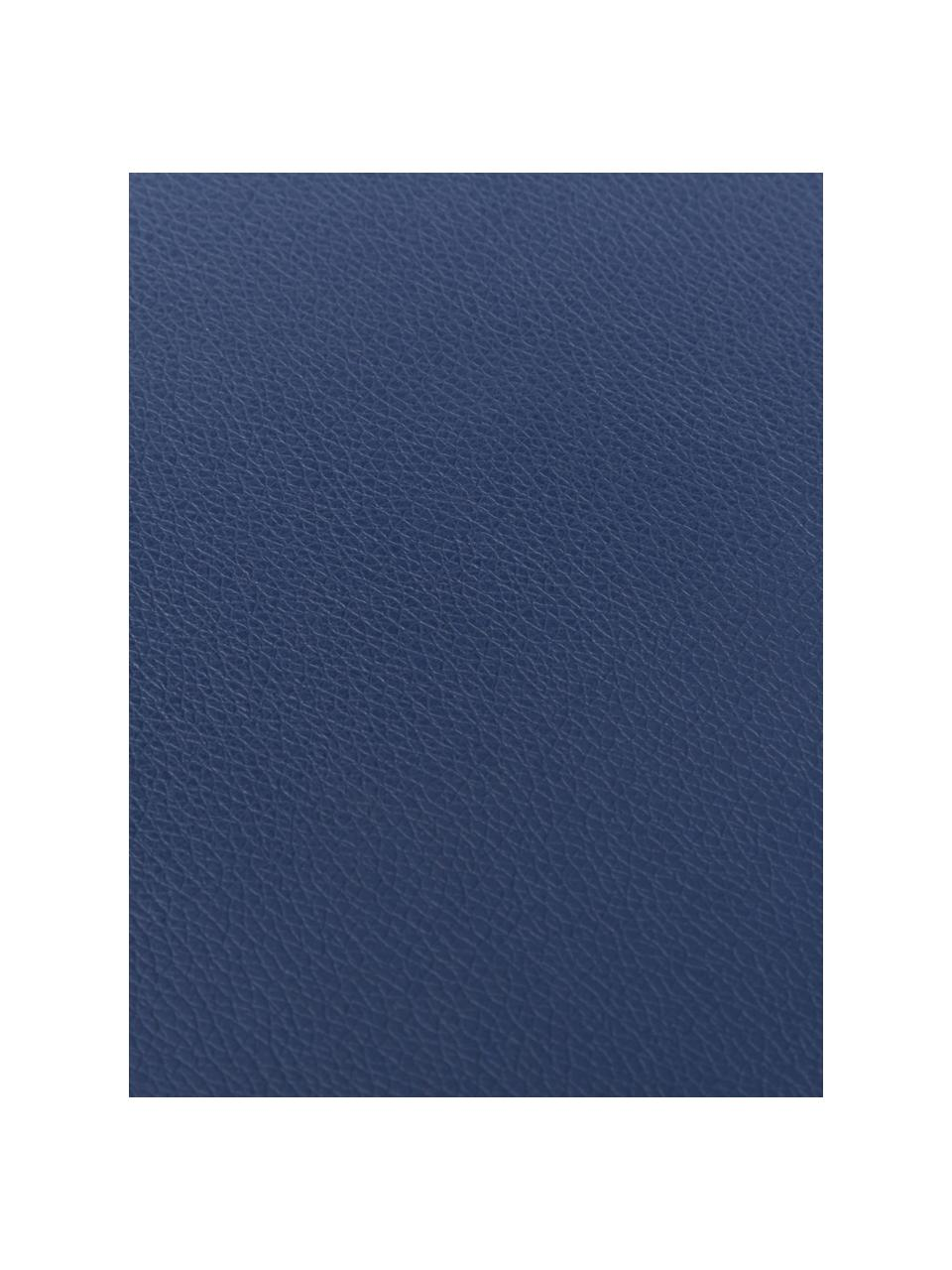 Tovaglietta americana in similpelle Pik 2 pz, Materiale sintetico (PVC), Navy, Larg. 33 x Lung. 46 cm