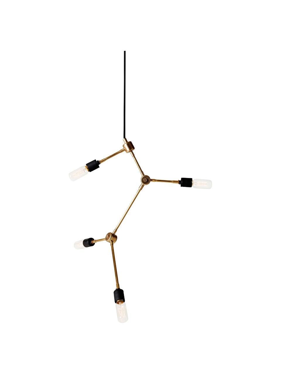 Lampada a sospensione Franklin, Ottone, Ø 56 x Alt. 56 cm