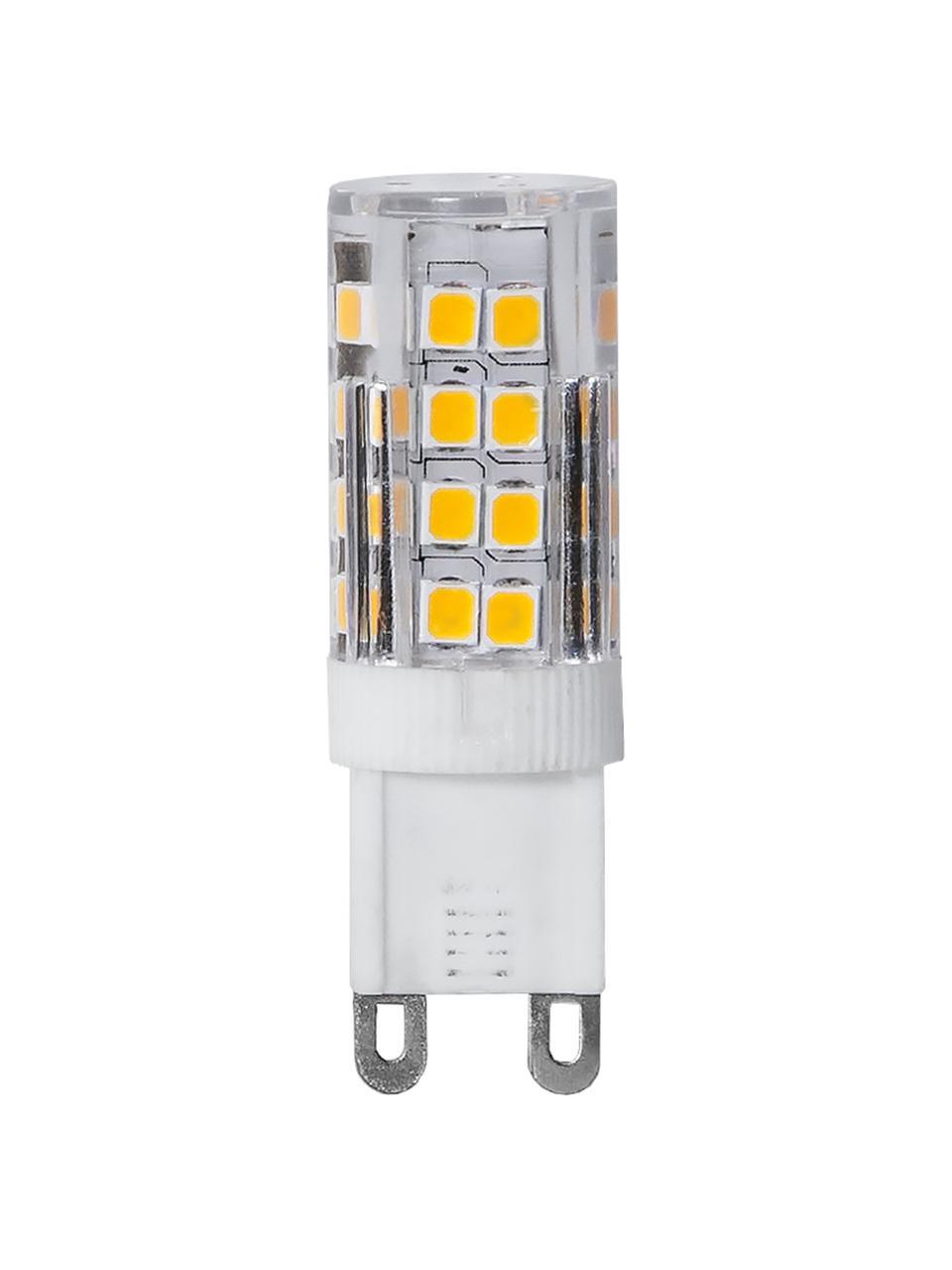 G9 Leuchtmittel, 2.8W, warmweiß, 4 Stück, Leuchtmittelschirm: Glas, Leuchtmittelfassung: Keramik, Transparent, Ø 2 x H 5 cm
