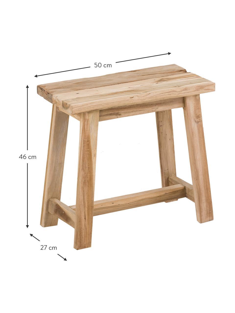 Stolička zrecyklovaného teakového dřeva Lawas, Teakové dřevo
