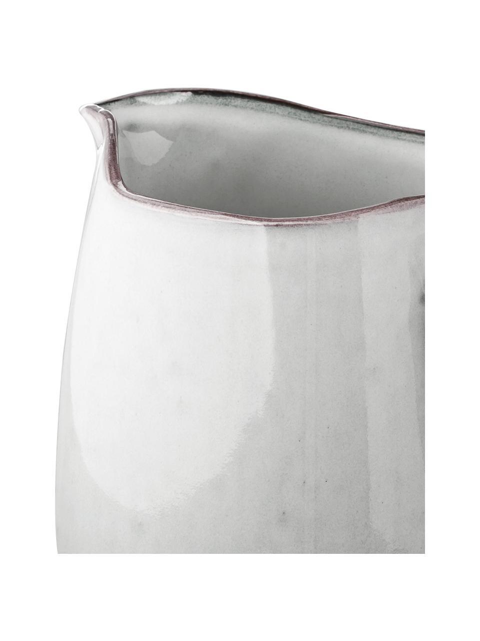 Brocca da latte in gres fatta a mano Nordic Sand, 1 L, Gres, Sabbia, Larg. 17 x Alt. 16 cm