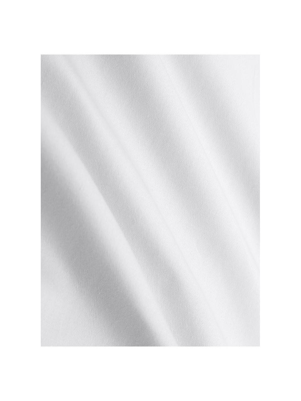 Lenzuolo con angoli in cotone biologico grigio chiaro Premium, Grigio chiaro, Larg. 180 x Lung. 200 cm