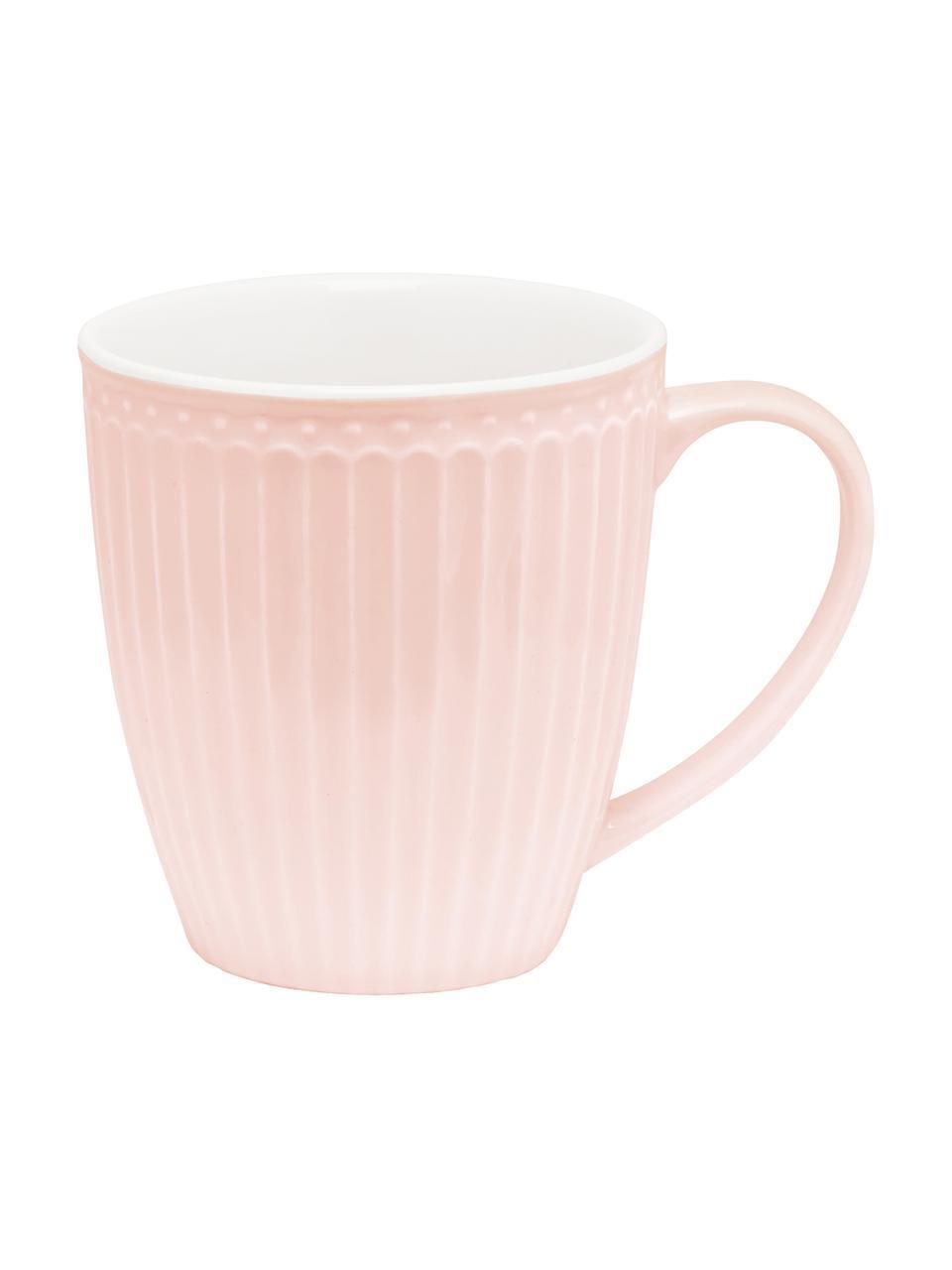 Tasse en porcelaine Alice, 2pièces, Rose