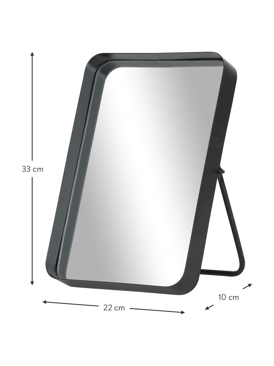 Kozmetické zrkadlo Bordspejl, Čierna