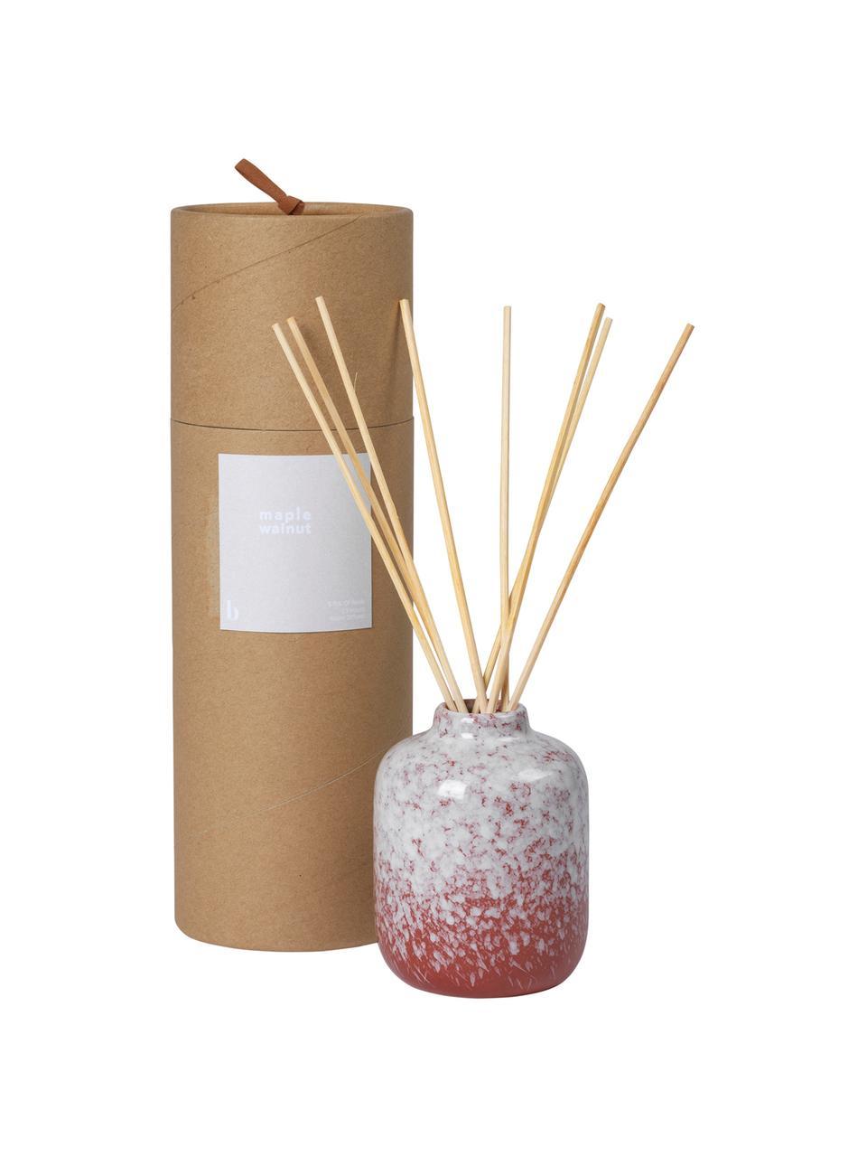Diffuser Maple Walnut (Walnuss), Behälter: Keramik, Rot, Weiß, Ø 7 x H 9 cm