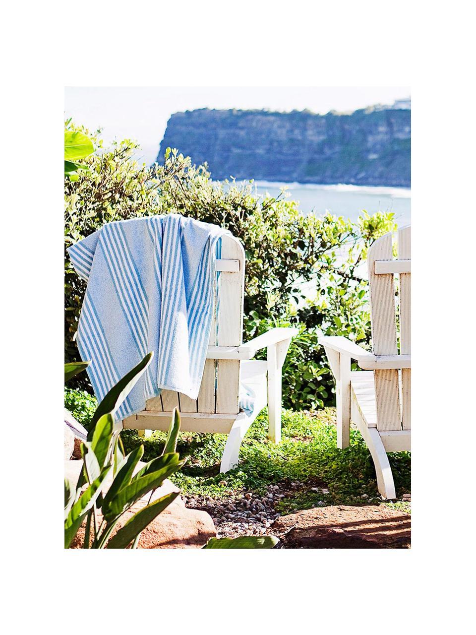 Poltrona da giardino in legno di acacia bianco Charlie, Legno di acacia massiccio, oliato e laccato, Bianco, Larg. 93 x Prof. 74 cm