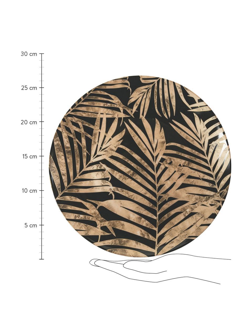 Komplet naczyń  Forest Chic, 18 elem., Wielobarwny, Komplet z różnymi rozmiarami
