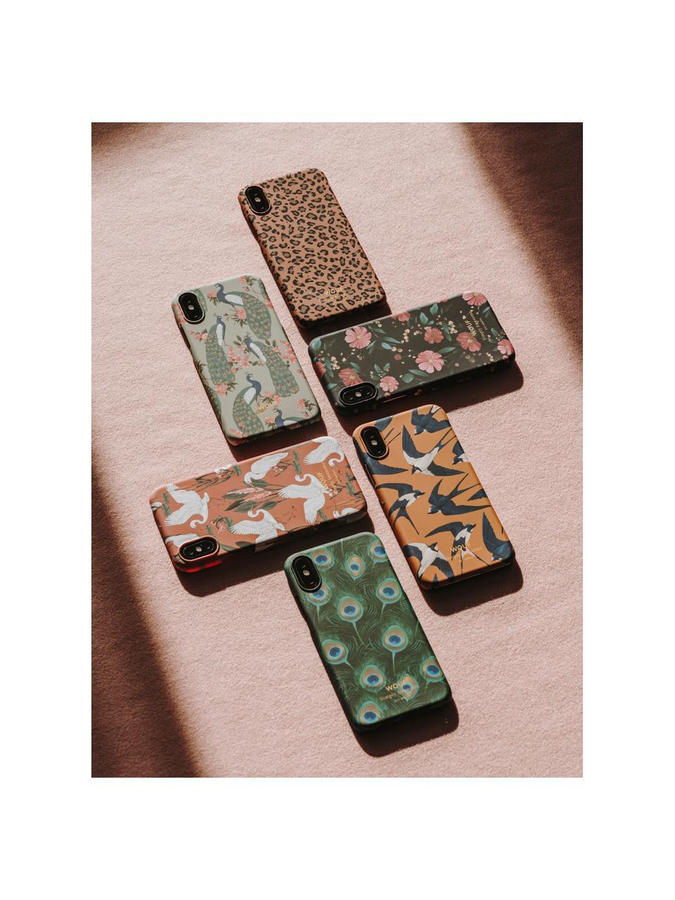 Hülle Royal Forest für iPhone X, Silikon, Mintgrün, Mehrfarbig, 7 x 15 cm