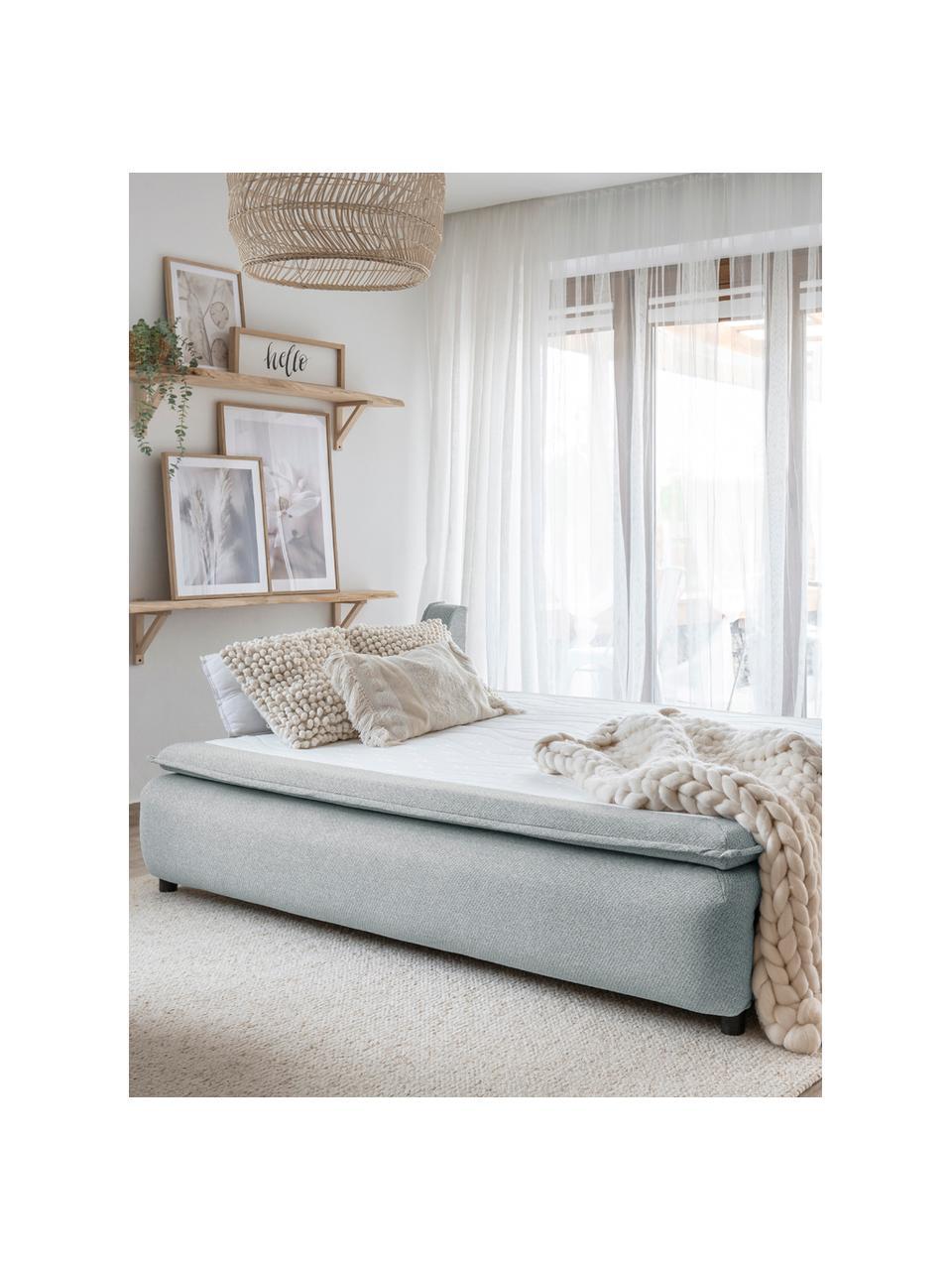 Sofa rozkładana z miejscem do przechowywania Charming Charlie, Szary, S 225 x G 85 cm