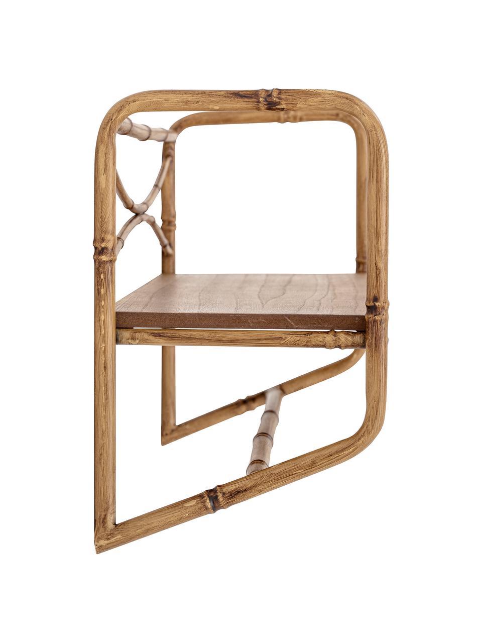 Wandrek Rod, Frame: metaal, Bruin, 63 x 28 cm