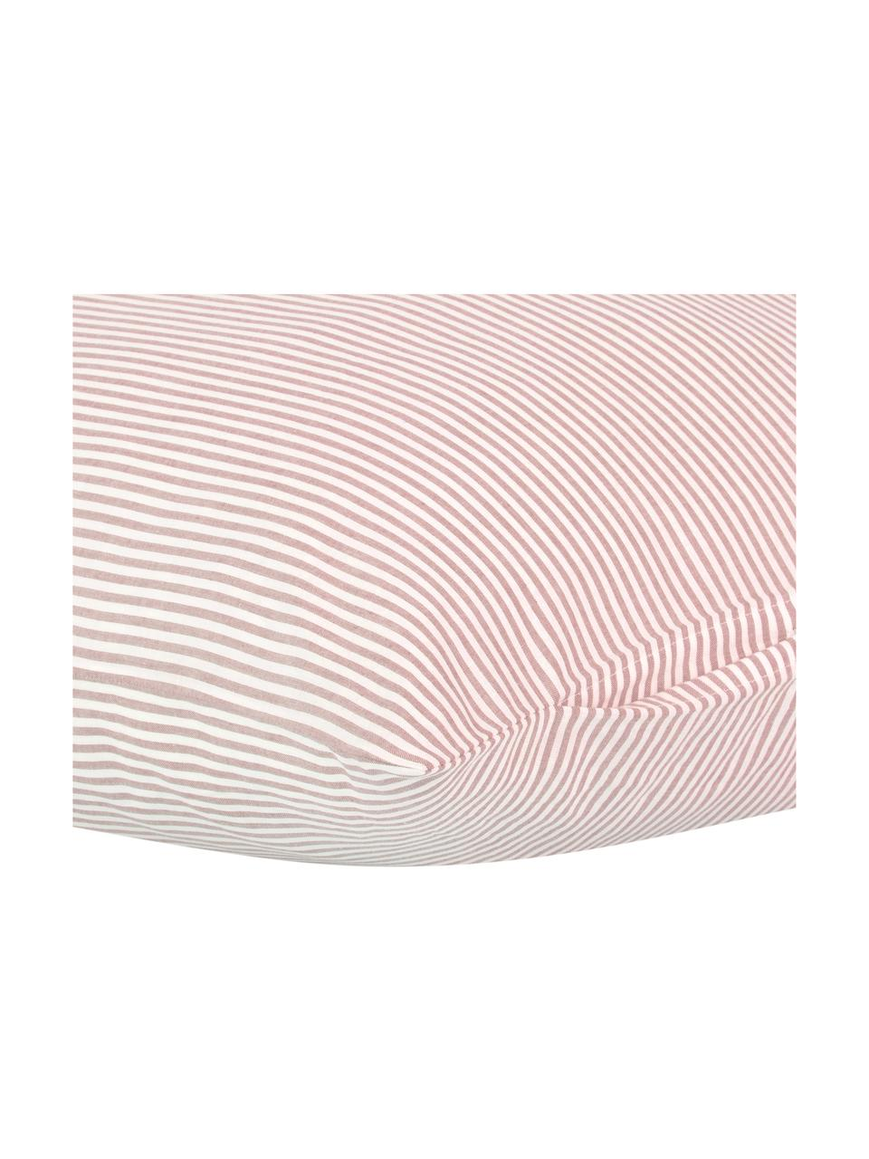 Poszewka na poduszkę z bawełny Ellie, 2szt., Biały, czerwony, S 40 x D 80 cm