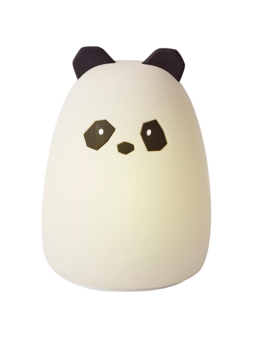 LED-Leuchtobjekt Winston Panda, 100% Silikon, BPA-frei, Weiß, Ø 11 x H 14 cm
