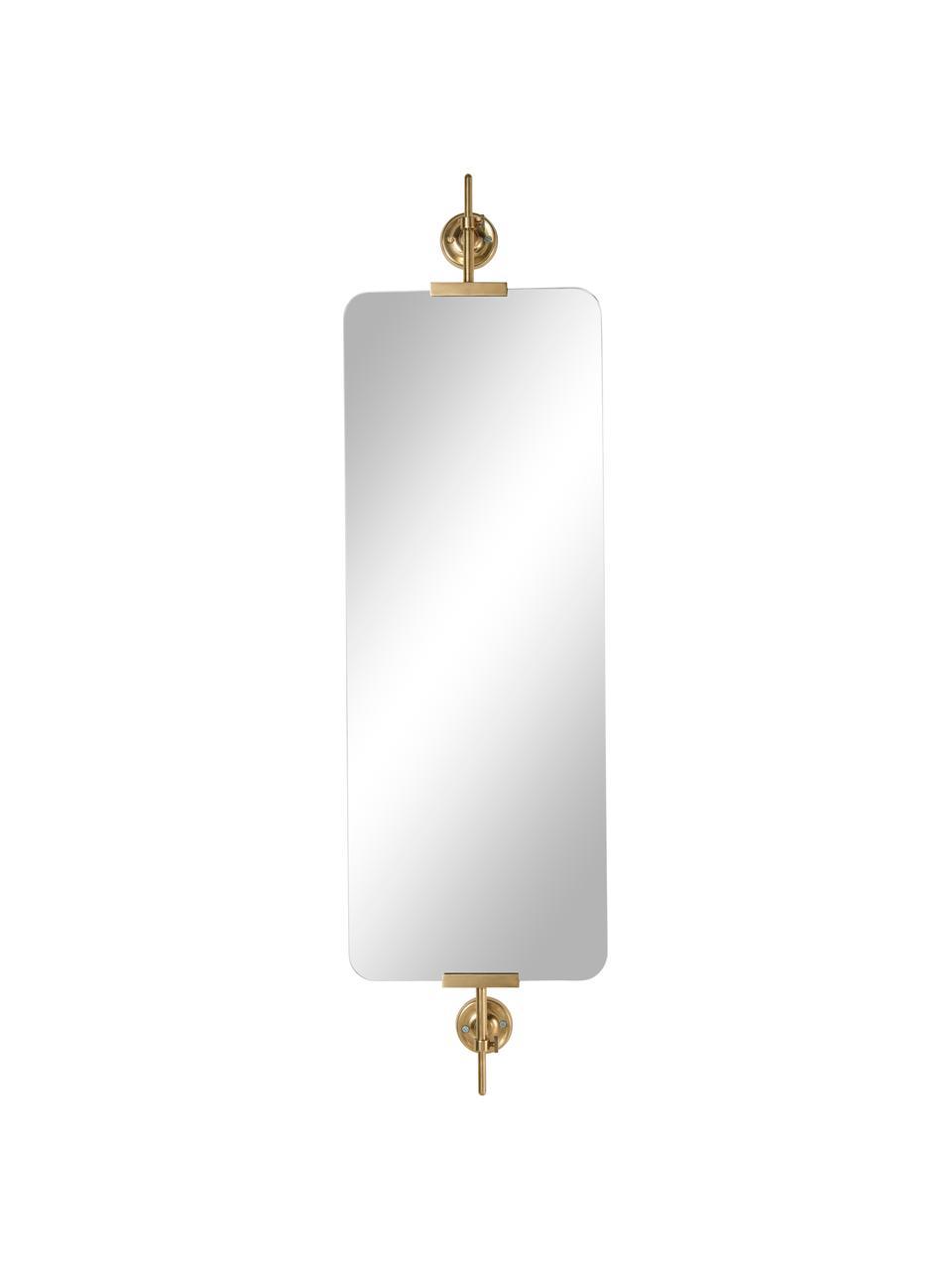 Wandspiegel Uma, Messingkleurig, 10 x 30 cm