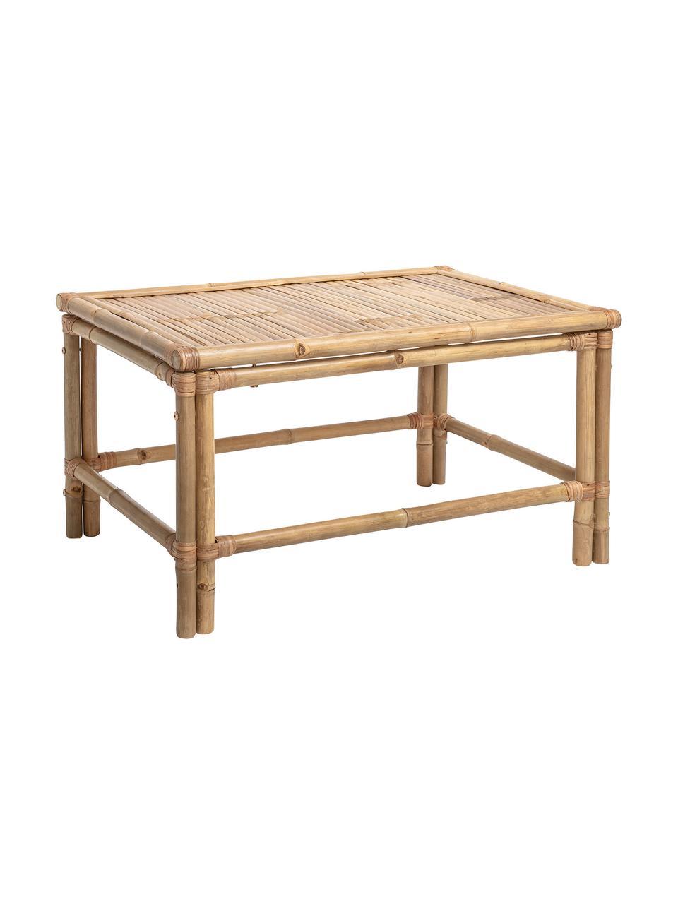 Table basse en bambou Sole, Beige