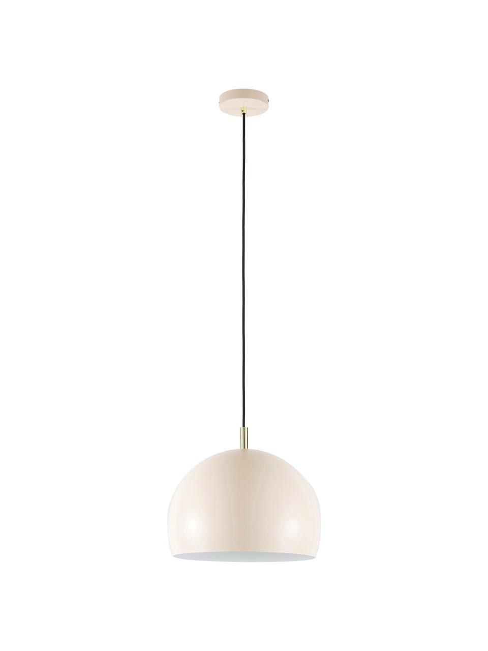 Lampa wisząca Wilma, Blady różowy, Ø 33 cm x W 25 cm