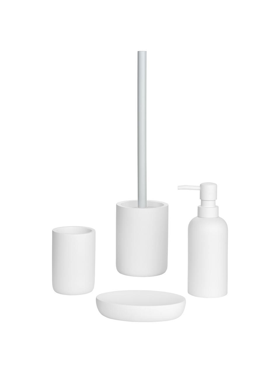 Seifenspender Archway, Kunststoff, Weiß, Ø 7 x H 19 cm