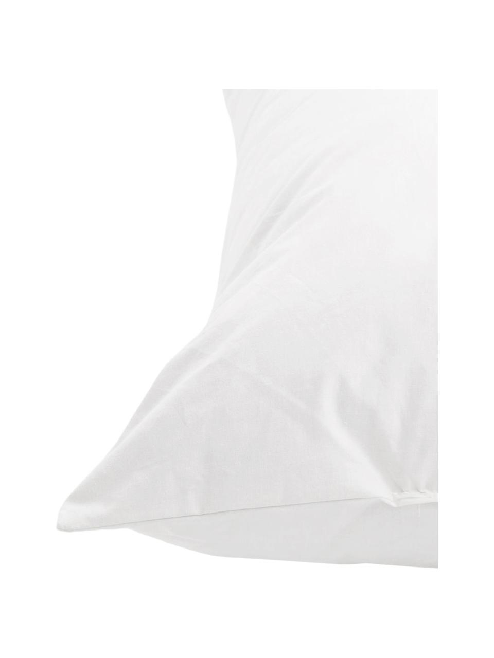 Kissen-Inlett Premium, 40x60, Daunen/Feder-Füllung, Bezug: Feinköper, 100% Baumwolle, Weiß, 40 x 60 cm