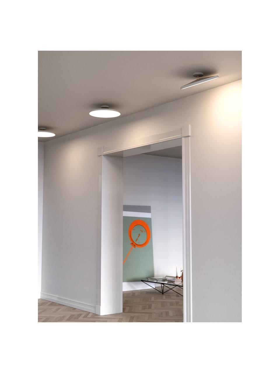 Plafonnier LED blanc Alba, Blanc