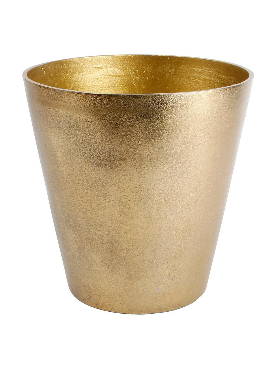 Cooler Palace, Aluminium lakierowane, Odcienie złotego, Ø 20 x W 20 cm