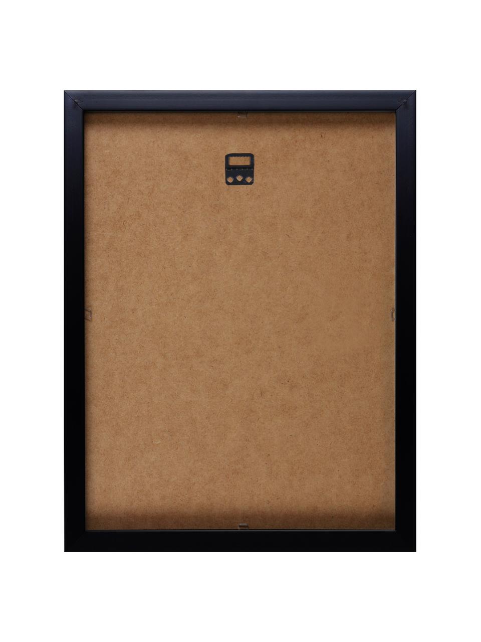 Stampa digitale incorniciata Kiss Andy Warhol Collection , Immagine: stampa digitale, Cornice: materiale sintetico, Immagine: multicolore cornice: nero, Larg. 33 x Alt. 38 cm