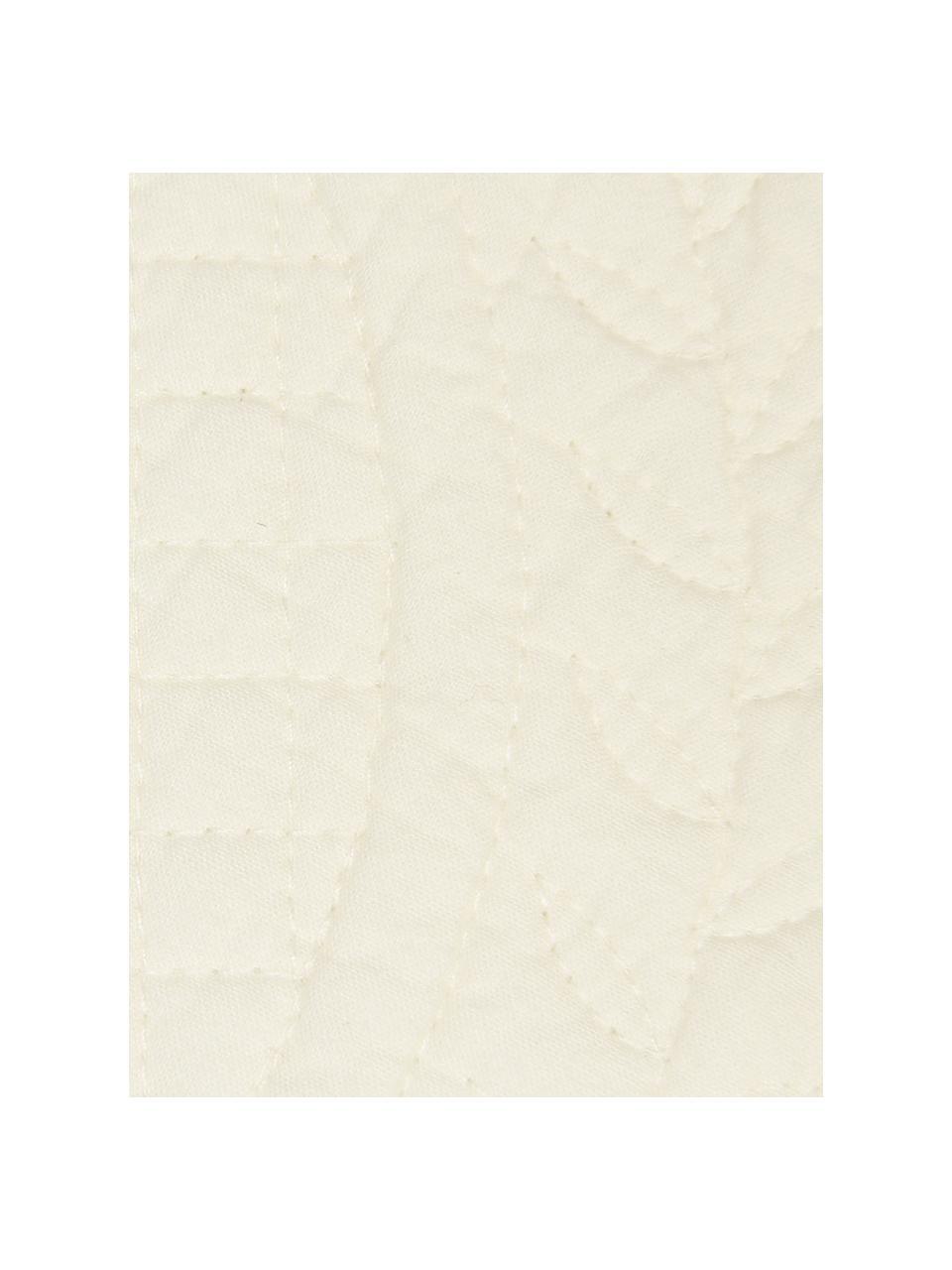 Tovaglietta americana in cotone Boutis 2 pz, 100% cotone, Color avorio, Larg. 34 x Lung. 48 cm