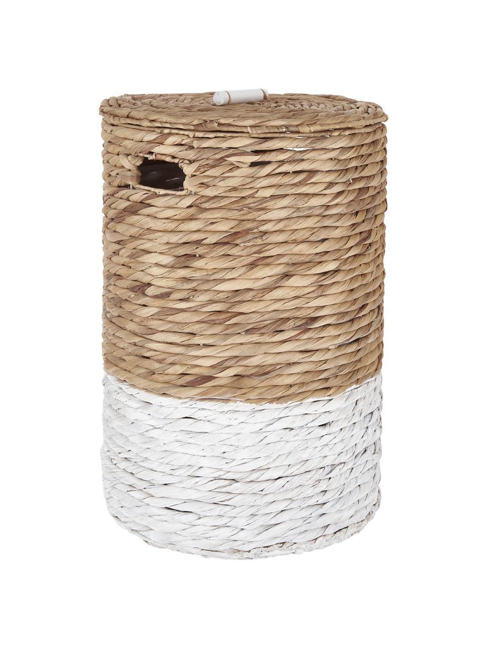 Sada prádelních košů Mast, 2 díly, Bílá, béžová