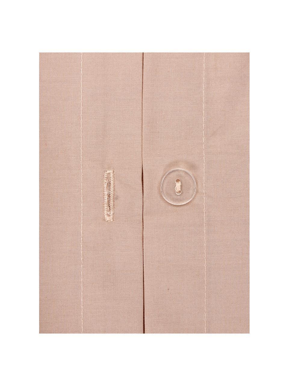 Baumwollperkal-Bettwäsche Bommy mit Pompoms, Webart: Perkal Fadendichte 200 TC, Rosa, 135 x 200 cm + 1 Kissen 80 x 80 cm