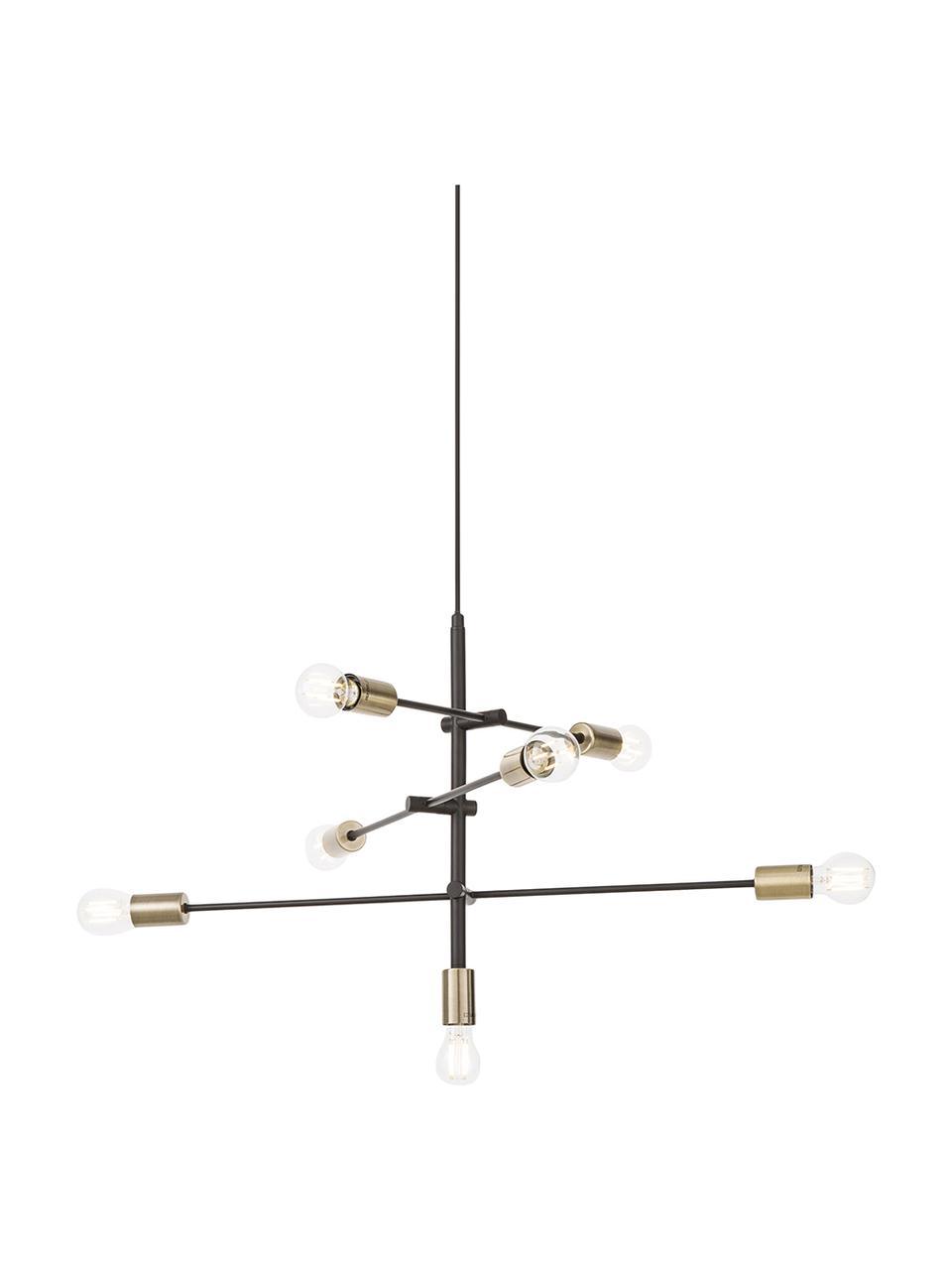 Lampa wisząca Visby, Czarny, Ø 84 cm