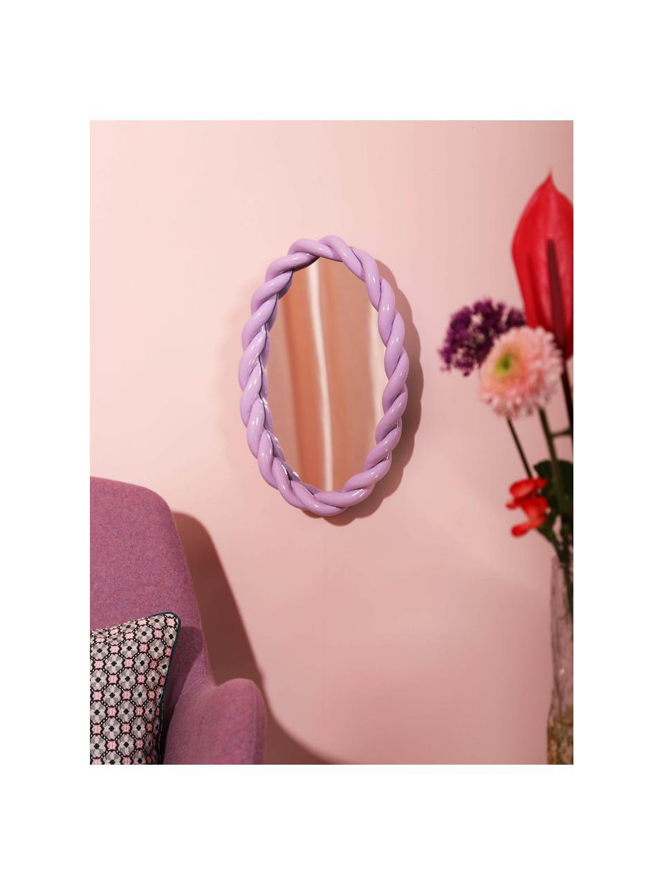 Miroir mural Braid, Lilas