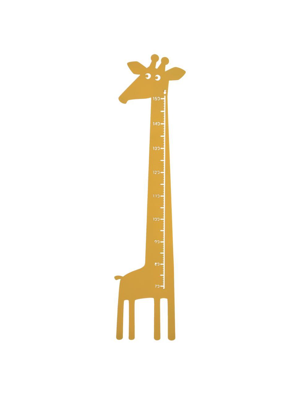Metro Giraffe, Metallo verniciato a polvere, Giallo, Larg. 28 x Alt. 115 cm