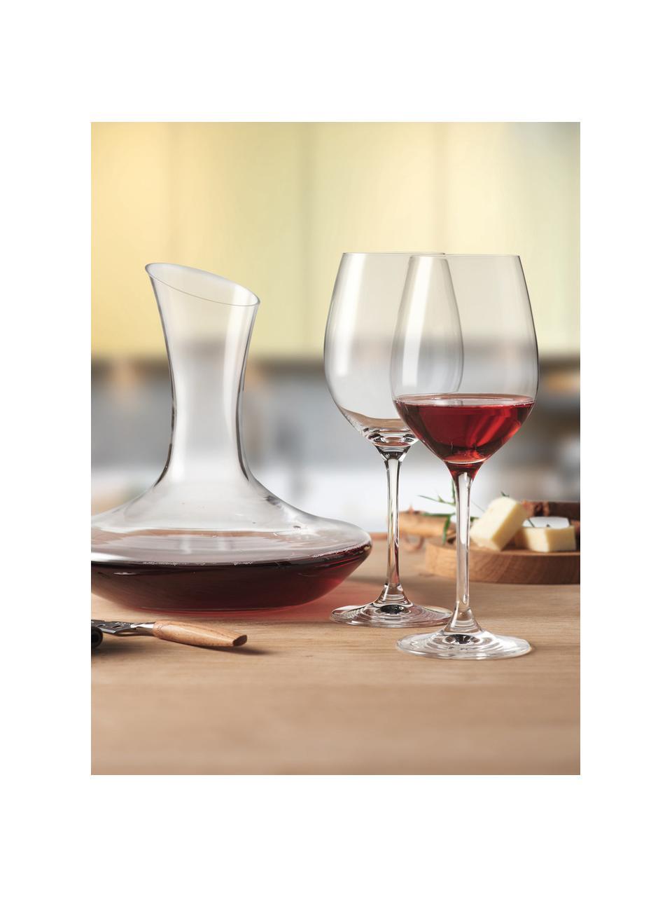Sada na červené víno Barcelona, 3díly, Transparentní