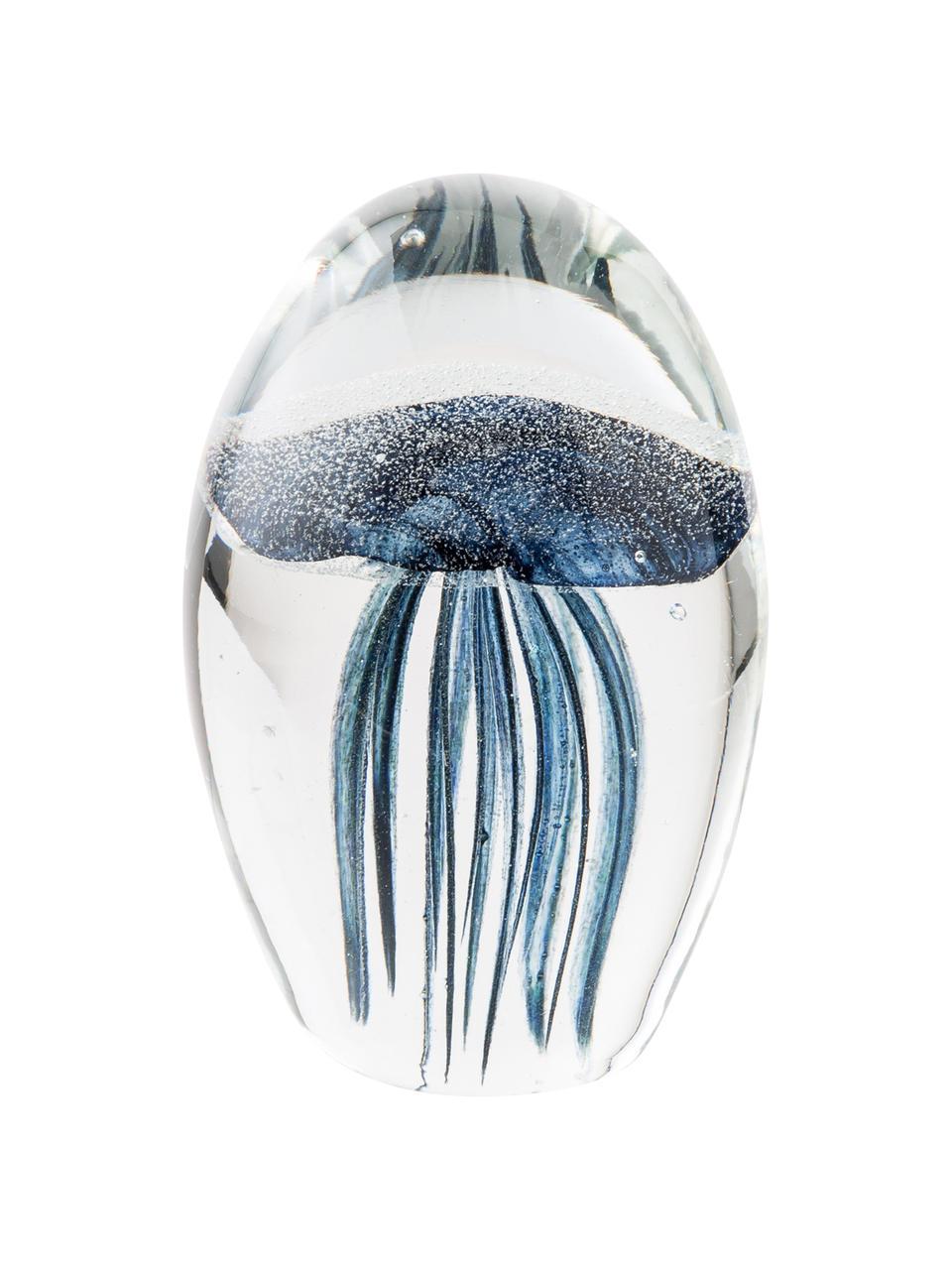 Dekoracja Tinti, Szkło, Niebieski, transparentny, Ø 7 x W 11 cm