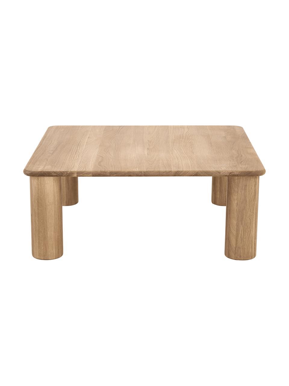 Table basse bois de chêne Didi, Brun
