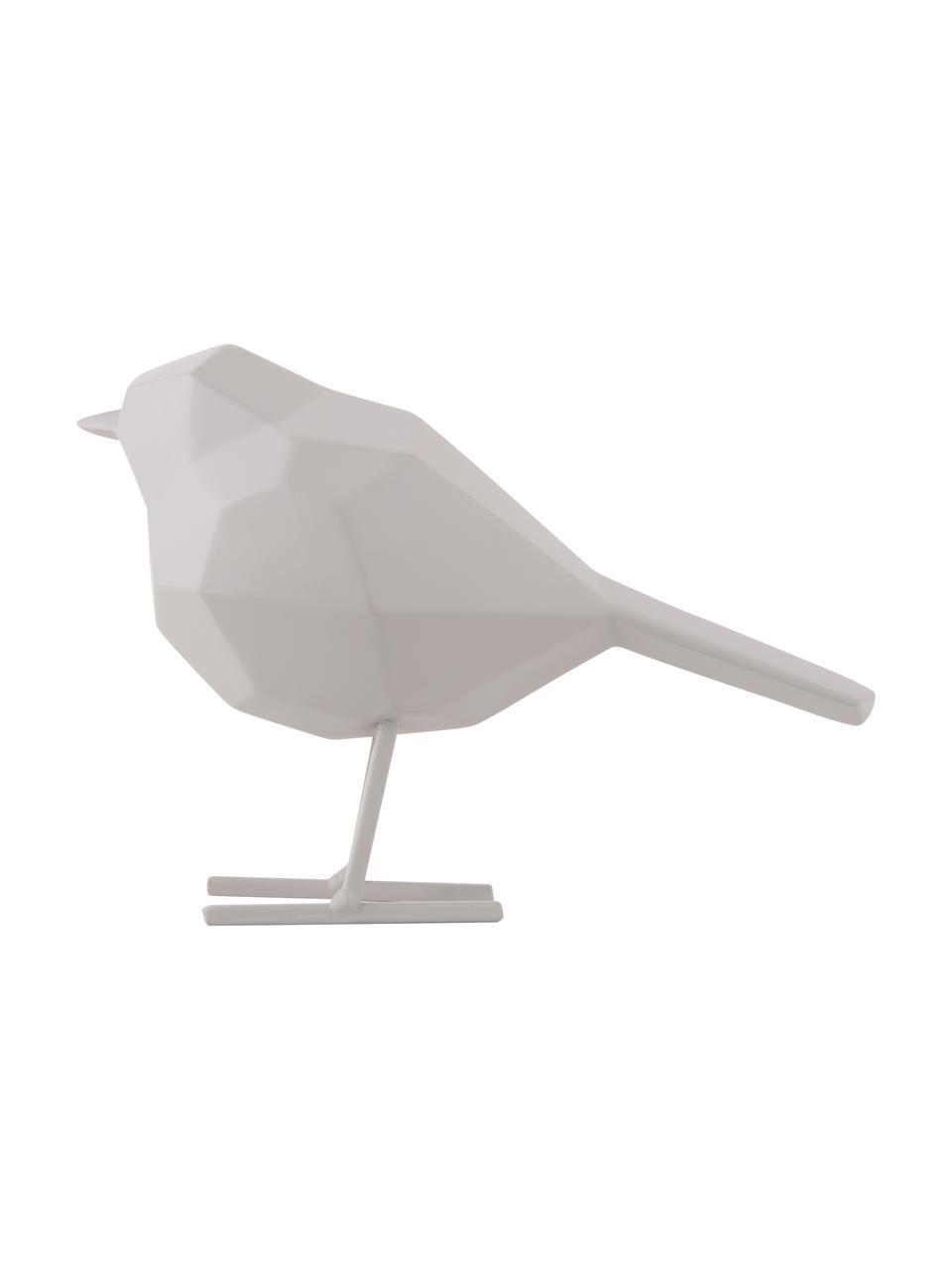 Dekoracja Bird, Tworzywo sztuczne, Szary, S 14 x W 17 cm