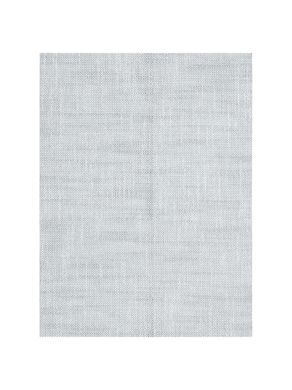 Stoff-Servietten Tonnika, 4 Stück, Baumwolle, Blaugrau, 45 x 45 cm